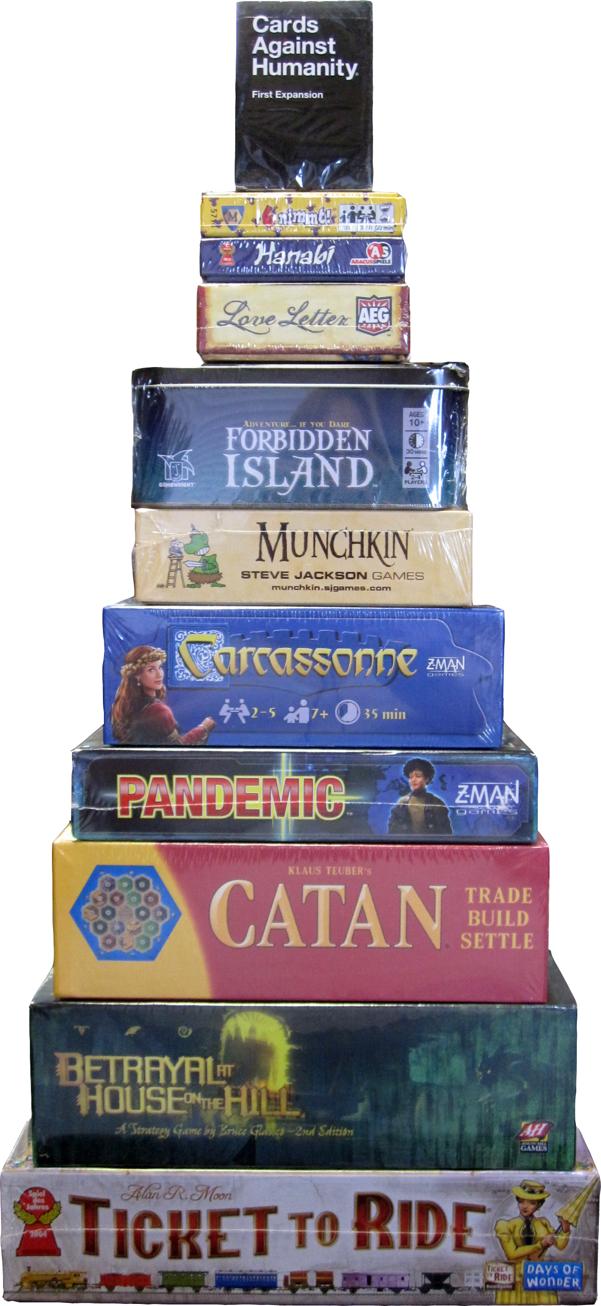 Modern Board Games & Card Games