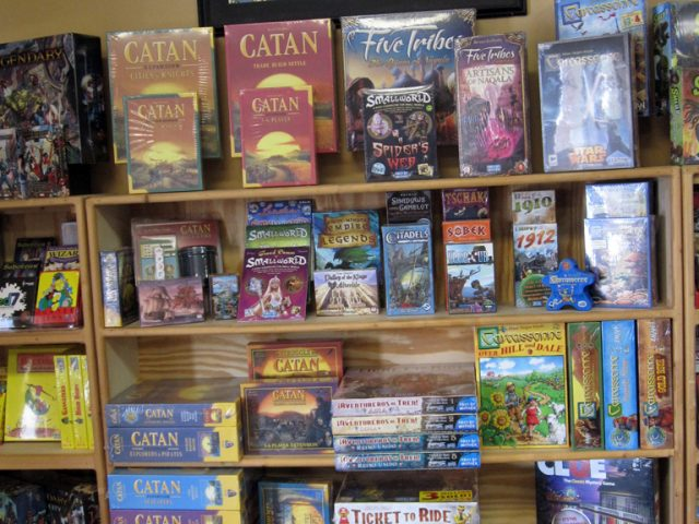Catan, Ticket to Ride, Carcassonne, etc.