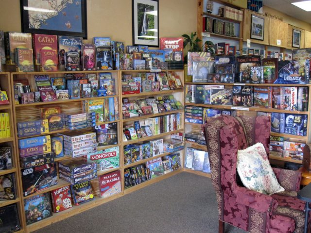 Front Area – Family Games Section