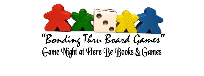 Game Night at Here Be Books & Games