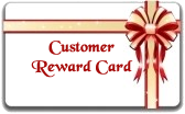 Customer Reward Card
