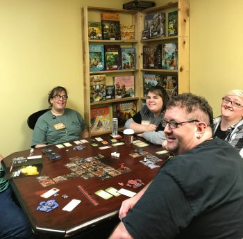 Betrayal at Baldur's Gate in progress in the Observatory