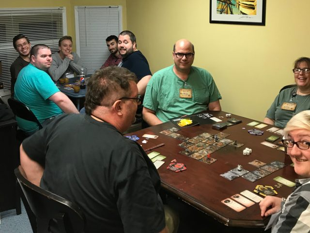 Grand Opening Game Night – Making Use of All Available Space in Observatory