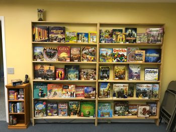The Gate Room's Game Library