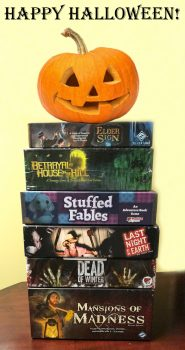 Spooky Board Games for Halloween