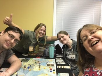 Victory at Pandemic: Fall of Rome at Game Night