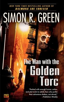 The Man with the Golden Torc by Simon Green (Tina's pick)