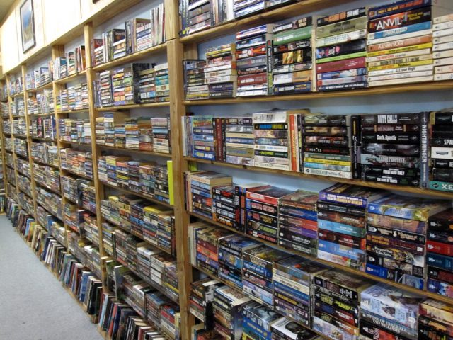 Sci Fi & Fantasy Aisle of Books