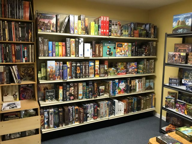 Treasure Room – Main stock of Board Games & RPGs